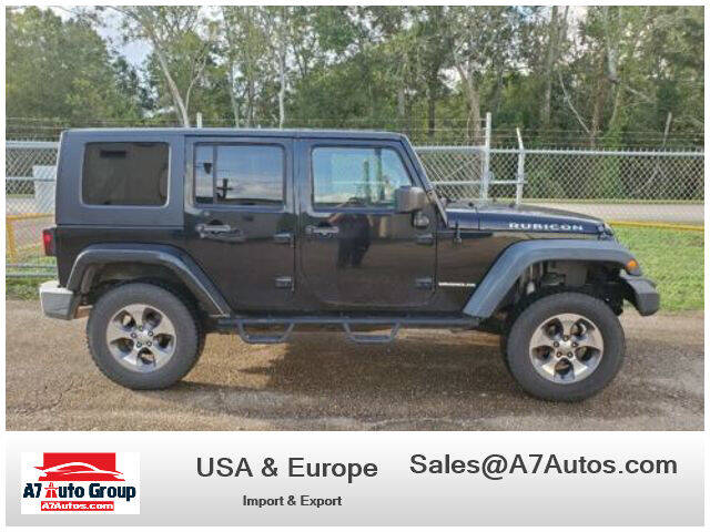 2007 Jeep Wrangler Unlimited for sale at A7 AUTO SALES in Holly Hill FL