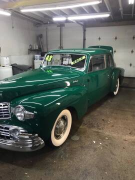 1948 Lincoln Continental for sale at MICHAEL'S AUTO SALES in Mount Clemens MI