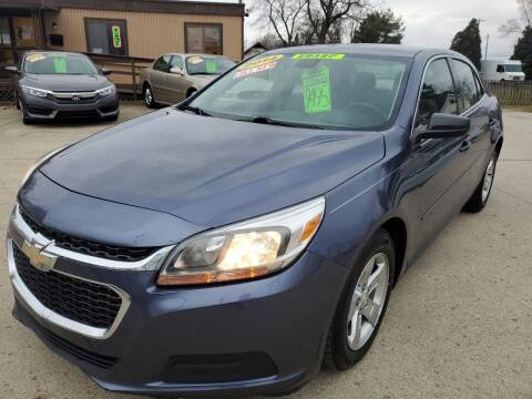 2014 Chevrolet Malibu for sale at Kachar's Used Cars Inc in Monroe MI