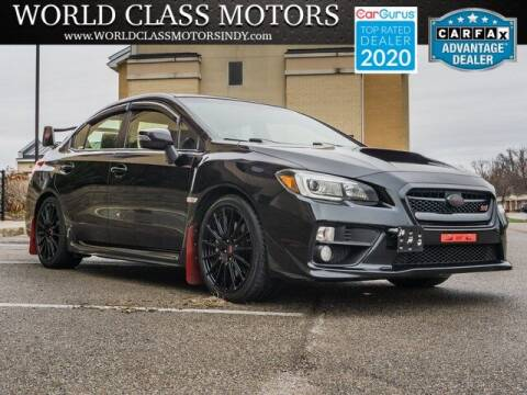 2015 Subaru WRX for sale at World Class Motors LLC in Noblesville IN