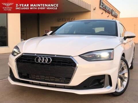 2020 Audi A5 Sportback for sale at European Motors Inc in Plano TX