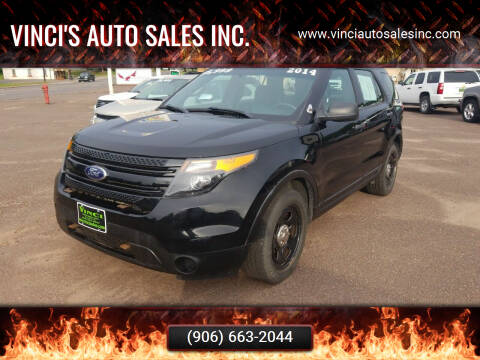 2014 Ford Explorer for sale at Vinci's Auto Sales Inc. in Bessemer MI