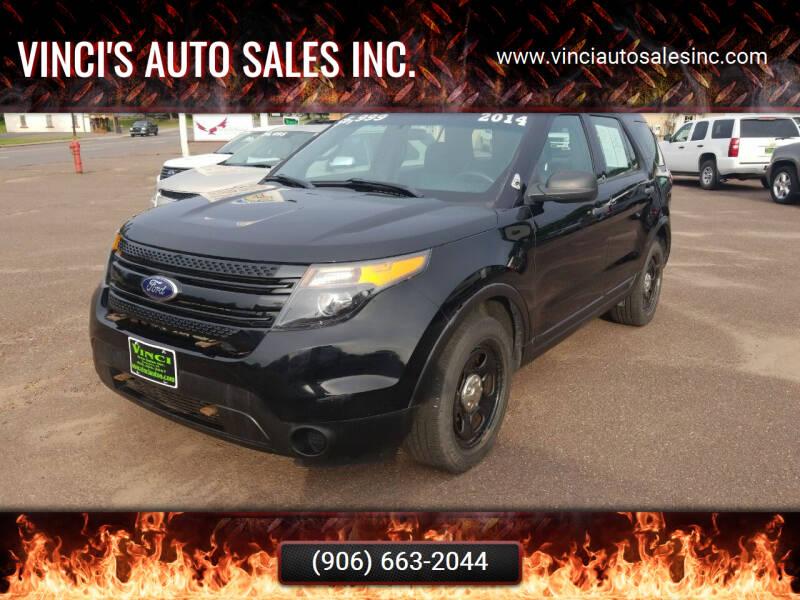 2014 Ford Explorer for sale at Vinci's Auto Sales Inc. in Bessemer MI