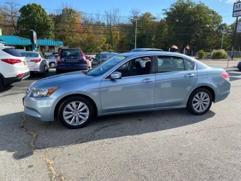 2011 Honda Accord for sale at M G Motors in Johnston RI