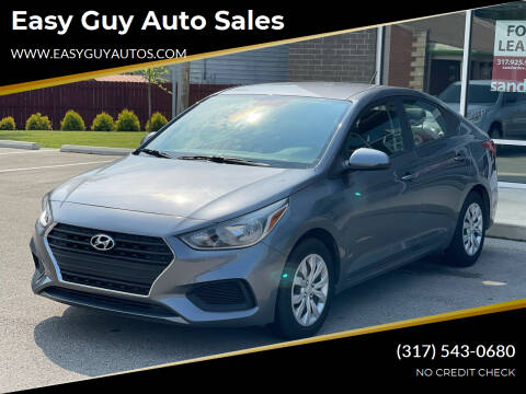 2020 Hyundai Accent for sale at Easy Guy Auto Sales in Indianapolis IN