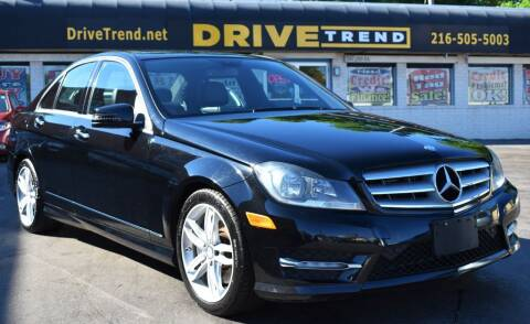 2013 Mercedes-Benz C-Class for sale at DRIVE TREND in Cleveland OH