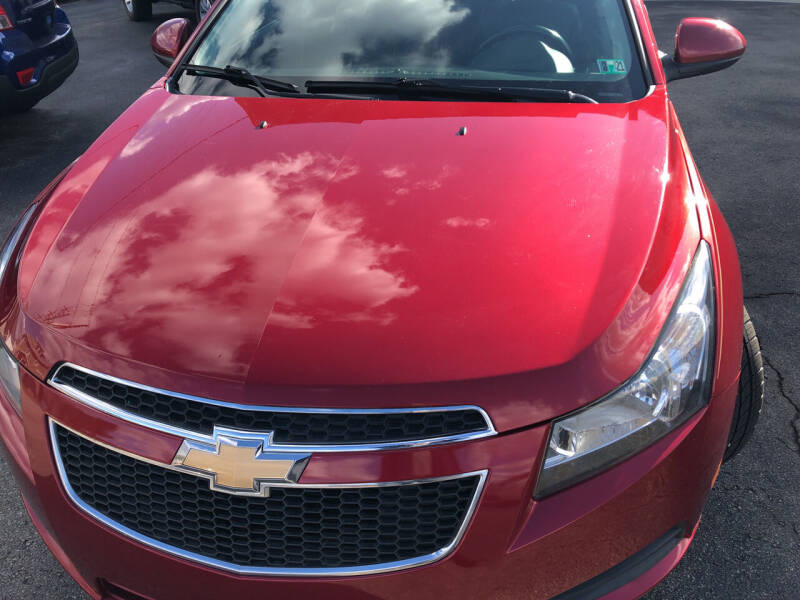 2014 Chevrolet Cruze for sale at Berwyn S Detweiler Sales & Service in Uniontown PA