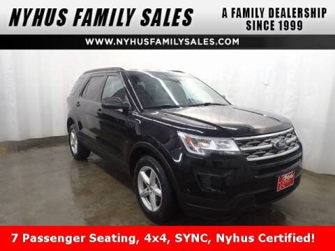 2019 Ford Explorer for sale at Nyhus Family Sales in Perham MN