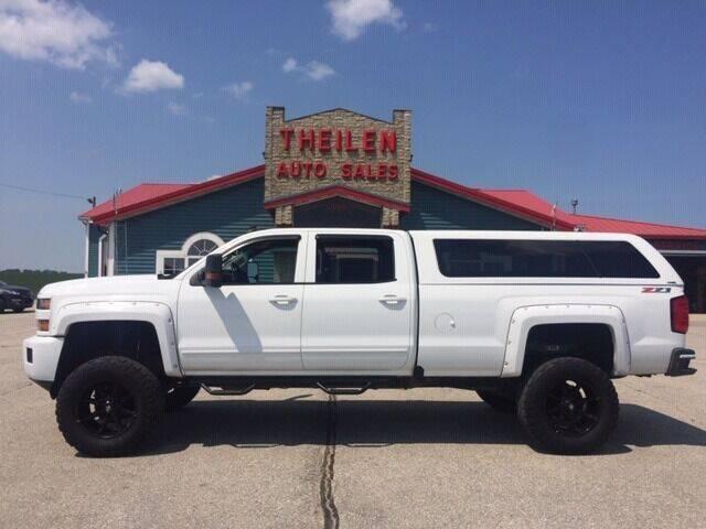 2016 Chevrolet Silverado 3500HD for sale at THEILEN AUTO SALES in Clear Lake IA