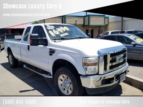 2008 Ford F-250 Super Duty for sale at Showcase Luxury Cars II in Fresno CA