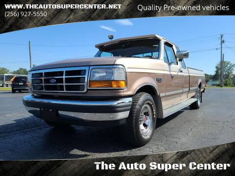 1992 Ford F-150 for sale at The Auto Super Center in Centre AL