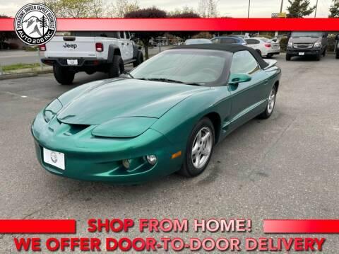 1998 Pontiac Firebird for sale at Auto 206, Inc. in Kent WA