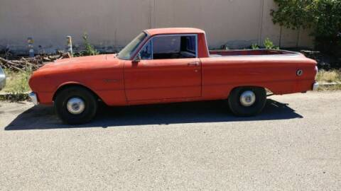 1963 Ford Ranchero for sale at Classic Car Deals in Cadillac MI