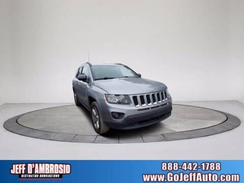 2015 Jeep Compass for sale at Jeff D'Ambrosio Auto Group in Downingtown PA