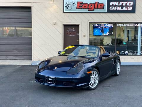 2003 Porsche Boxster for sale at Eagle Auto Sales LLC in Holbrook MA