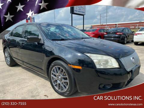 2006 Mercury Milan for sale at Car Solutions Inc. in San Antonio TX