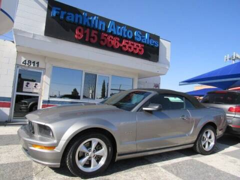 2008 Ford Mustang for sale at Franklin Auto Sales in El Paso TX