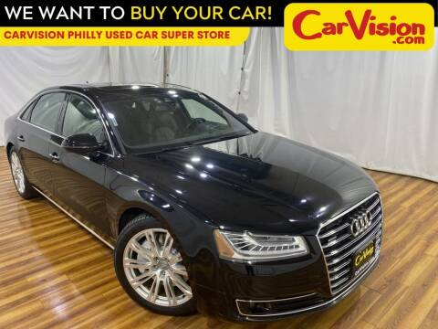 2016 Audi A8 L for sale at Car Vision Mitsubishi Norristown - Car Vision Philly Used Car SuperStore in Philadelphia PA