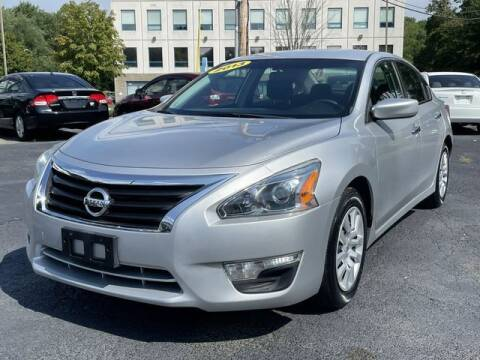 2013 Nissan Altima for sale at All Star Auto  Cycle in Marlborough MA