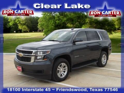 2019 Chevrolet Tahoe for sale at Ron Carter  Clear Lake Used Cars in Houston TX