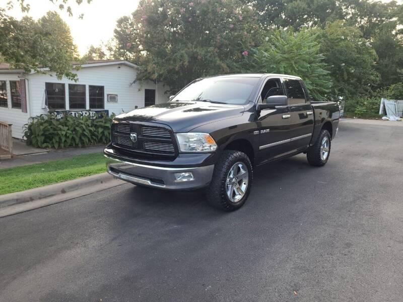 2011 RAM Ram Pickup 1500 for sale at TR MOTORS in Gastonia NC