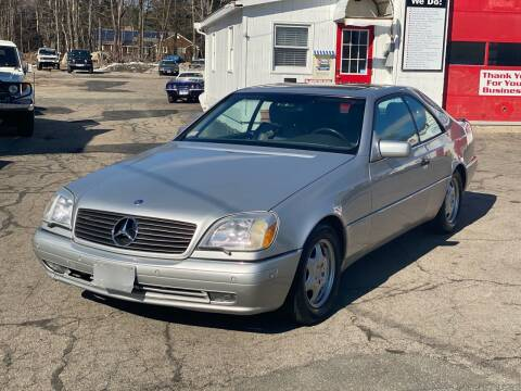 1997 Mercedes-Benz S-Class for sale at Milford Automall Sales and Service in Bellingham MA