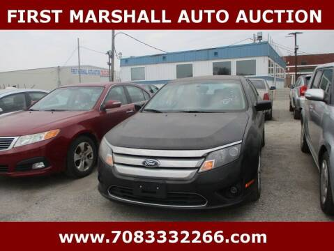 2011 Ford Fusion for sale at First Marshall Auto Auction in Harvey IL