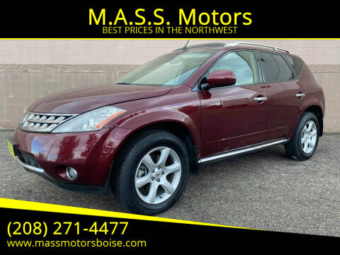 2007 Nissan Murano for sale at M.A.S.S. Motors in Boise ID