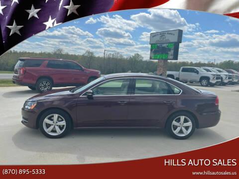 2014 Volkswagen Passat for sale at Hills Auto Sales in Salem AR