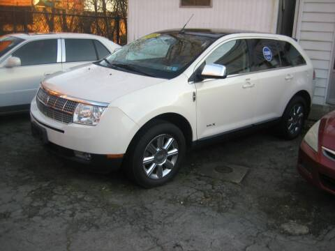 2008 Lincoln MKX for sale at B. Fields Motors, INC in Pittsburgh PA