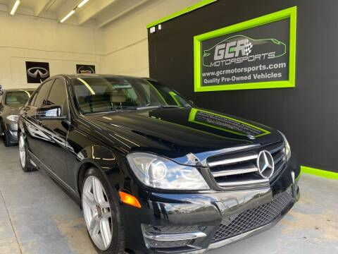 2014 Mercedes-Benz C-Class for sale at GCR MOTORSPORTS in Hollywood FL