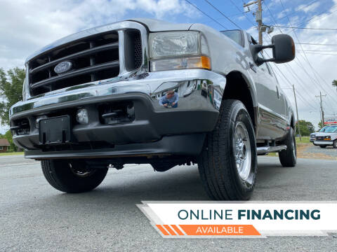 2003 Ford F-250 Super Duty for sale at Prime One Inc in Walkertown NC