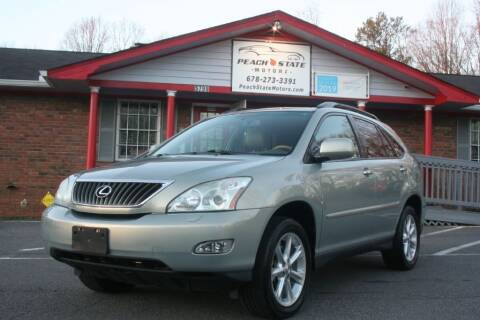 2008 Lexus RX 350 for sale at Peach State Motors Inc in Acworth GA