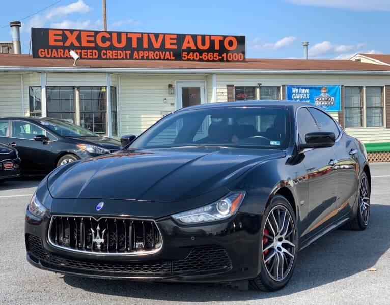 2014 Maserati Ghibli for sale at Executive Auto in Winchester VA