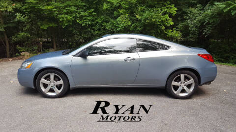 2007 Pontiac G6 for sale at Ryan Motors LLC in Warsaw IN