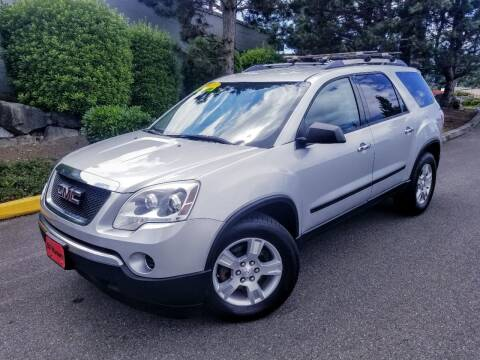 2011 GMC Acadia for sale at SS MOTORS LLC in Edmonds WA