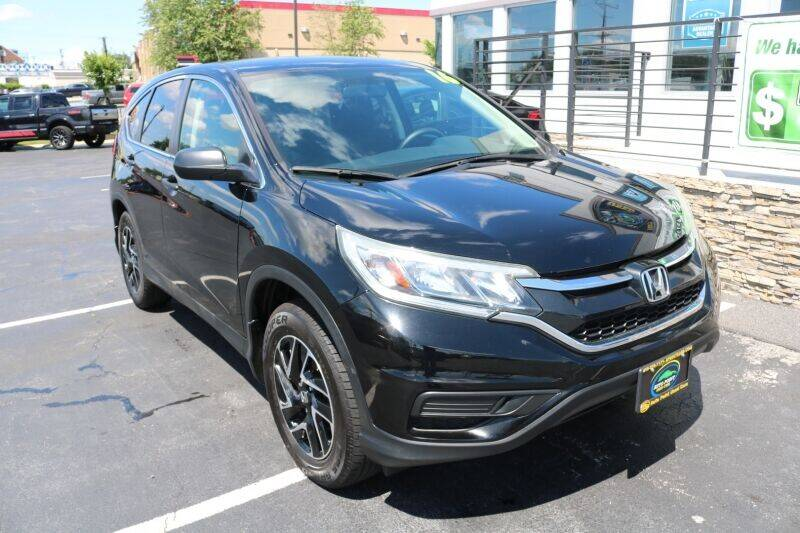 2016 Honda CR-V for sale at AUTO POINT USED CARS in Rosedale MD