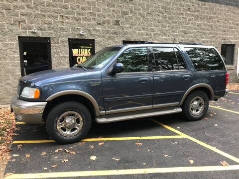 2002 Ford Expedition for sale at William's Car Sales aka Fat Willy's in Atkinson NH