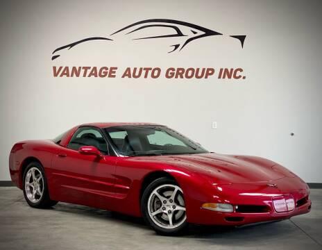 2002 Chevrolet Corvette for sale at Vantage Auto Group Inc in Fresno CA