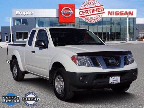 2019 Nissan Frontier for sale at EMPIRE LAKEWOOD NISSAN in Lakewood CO