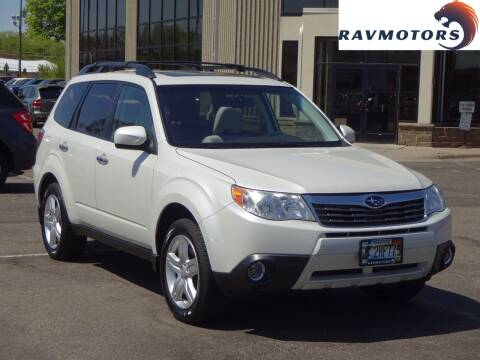 2009 Subaru Forester for sale at RAVMOTORS 2 in Crystal MN