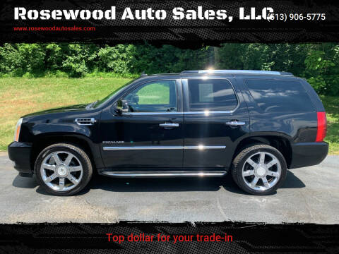 2010 Cadillac Escalade for sale at Rosewood Auto Sales, LLC in Hamilton OH