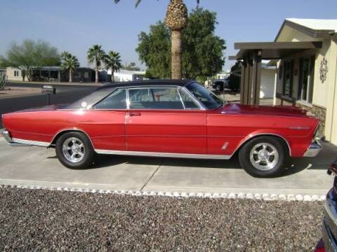 1966 Ford LTD for sale at Classic Car Deals in Cadillac MI