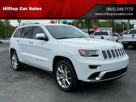 2014 Jeep Grand Cherokee for sale at Hilltop Car Sales in Knox TN