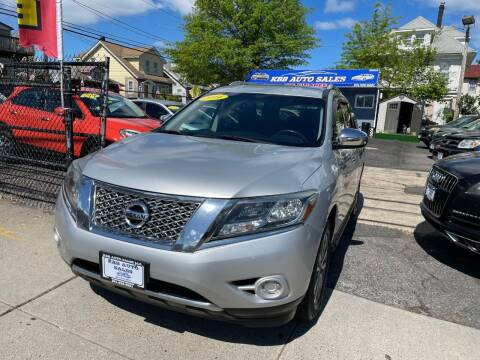 2014 Nissan Pathfinder for sale at KBB Auto Sales in North Bergen NJ