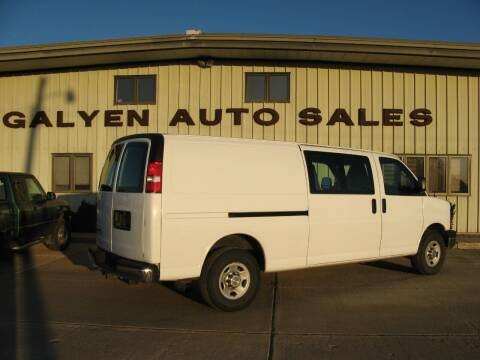 2012 Chevrolet Express Cargo for sale at Galyen Auto Sales Inc. in Atkinson NE