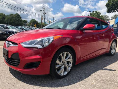 2016 Hyundai Veloster for sale at Capital Motors in Raleigh NC