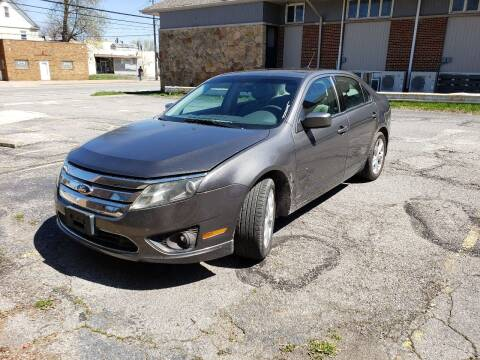 2012 Ford Fusion for sale at USA AUTO WHOLESALE LLC in Cleveland OH