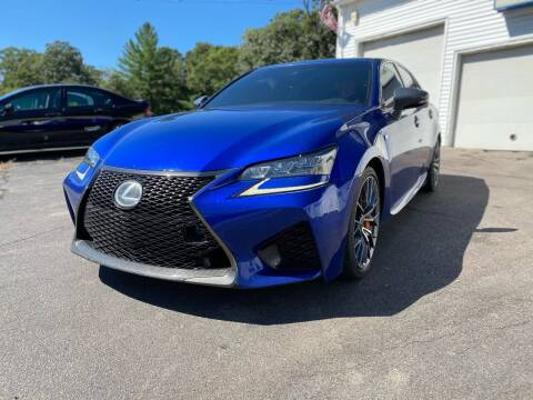2016 Lexus GS F for sale at SOUTH SHORE AUTO GALLERY, INC. in Abington MA