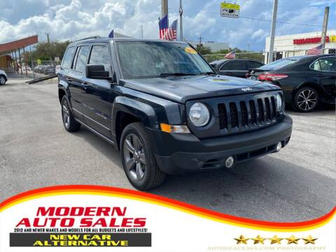2014 Jeep Patriot for sale at Modern Auto Sales in Hollywood FL